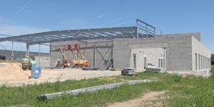 Construction usine