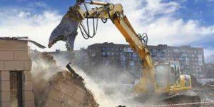 Devis Démolition complète d'un bâtiment