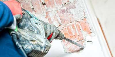 Démolition de murs