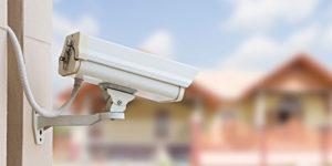 caméra de surveillance en extérieur
