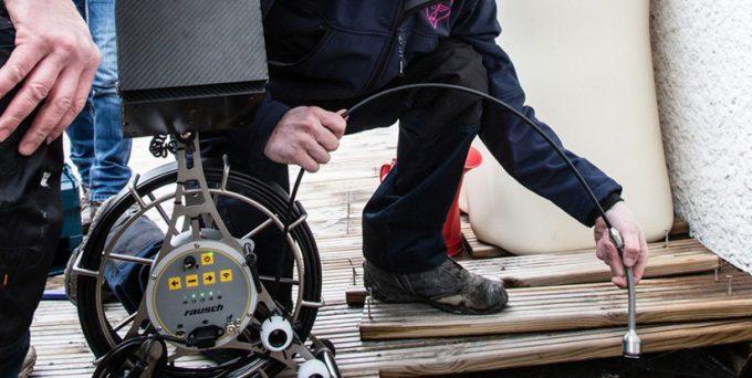 inspection vidéo d'une canalisation