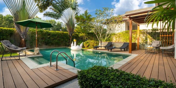 Terrasse ou un jardin